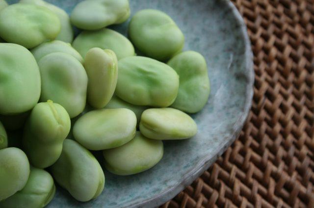 Clafoutis aux fèves