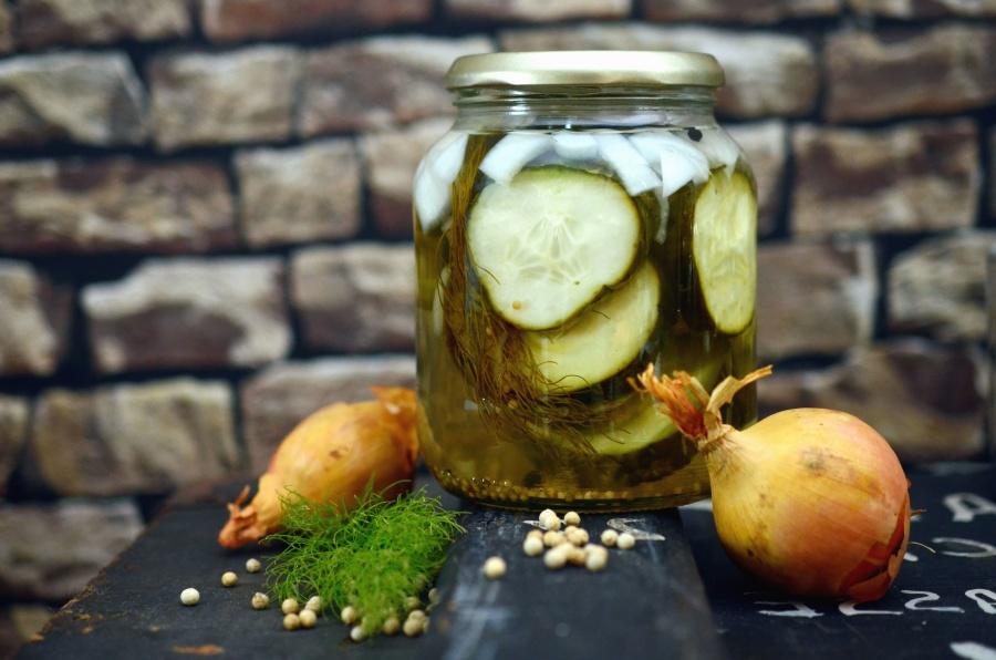 Pickles de concombre…comme des cornichons!