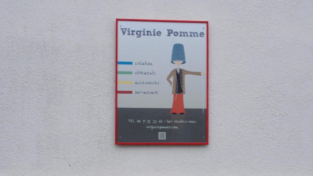 Vente / Exposition Virginie Pomme