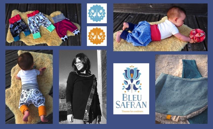 Expo vente «Bleu safran»