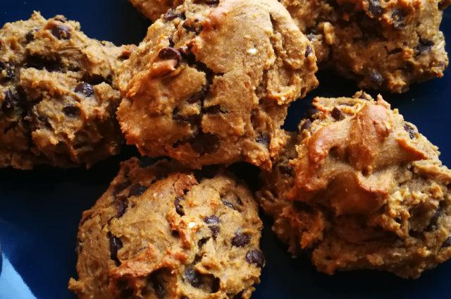 Cookies châtaigne et chocolat