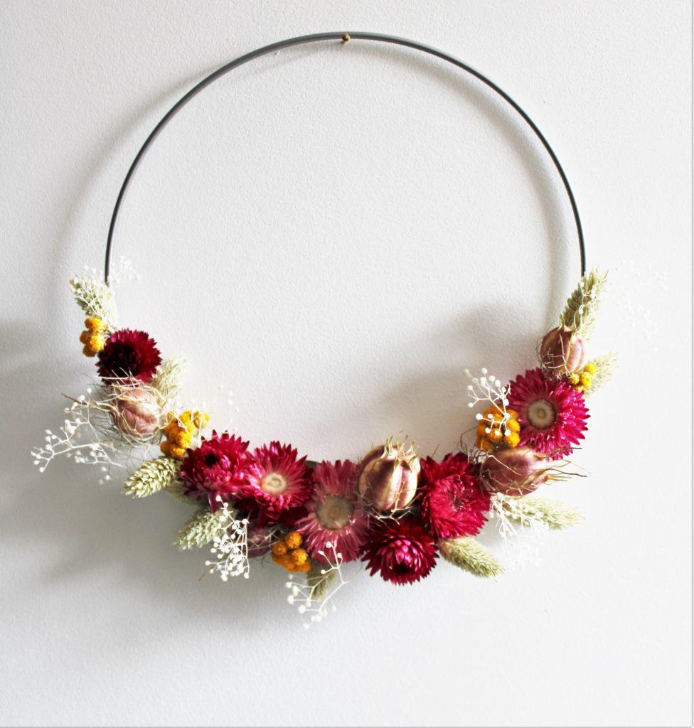 – – – Expo-vente VEZIN – – – Nigelle & Lunaria (créas en fleurs séchées)